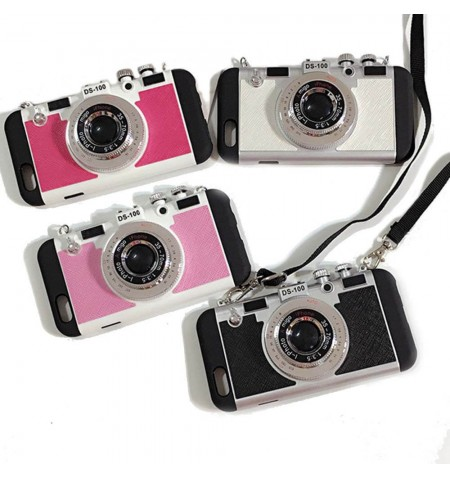 Coque Appareil Photo Vintage + Bumper - iPhone 5-5S - i-photo