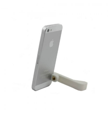 Support 2 en 1 Sidekic pour iPhone - Blanc