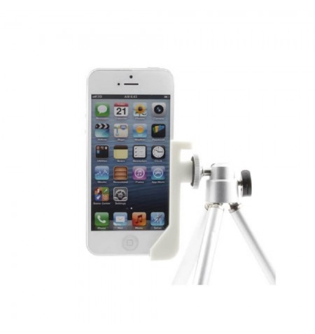 Support 2 en 1 Sidekic pour iPhone sur trépied - Blanc
