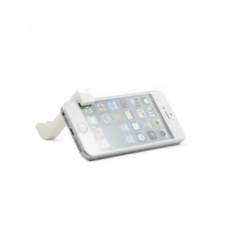 Support 2 en 1 Sidekic pour iPhone sur table - Blanc