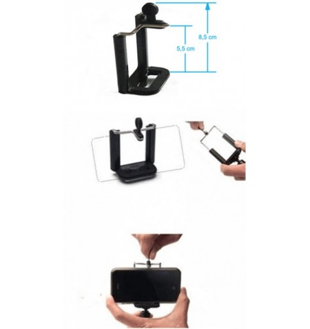 Support Universel pour Smartphone - Dimensions