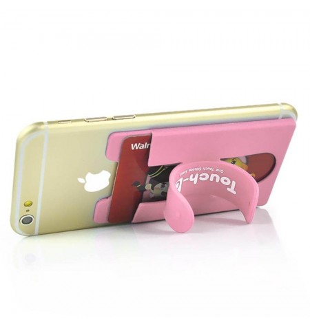 Range carte support Touch-C - Rose
