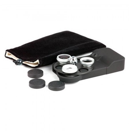 Coque 3 YEUX - iPhone 4-4S - kit