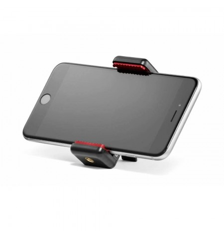 Pince universelle Manfrotto MCLAMP avec Smartphone
