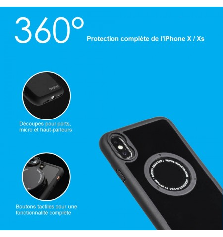 Revolver 4 en 1 Serie M iPhone X - Xs - Protection