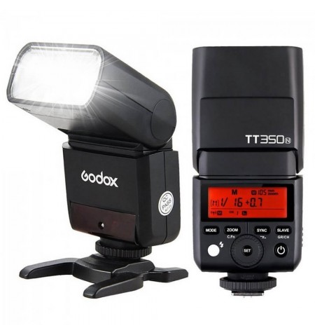 Mini Flash Godox TT350 Nikon
