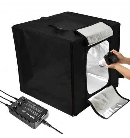 Studio portable triple LED Godox LST40-60-80 - Exemple