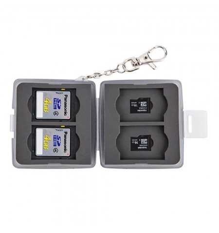 JJC MC-11D - Mini Etui Cartes SD et MSD