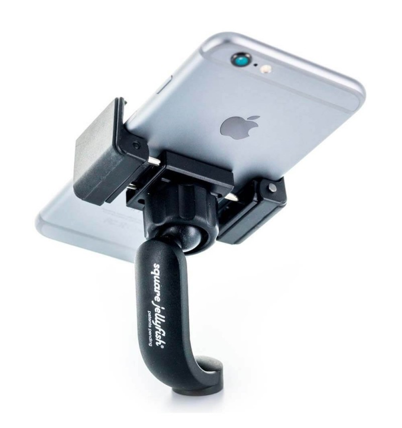 Support Jelly - Vue Verticale avec iPhone 6