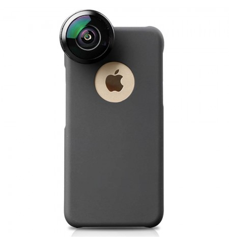Coque iPhone 6-6S avec objectif photo grand angle IB-8MM