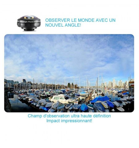 Objectif photo grand angle IB-8MM - Exemple