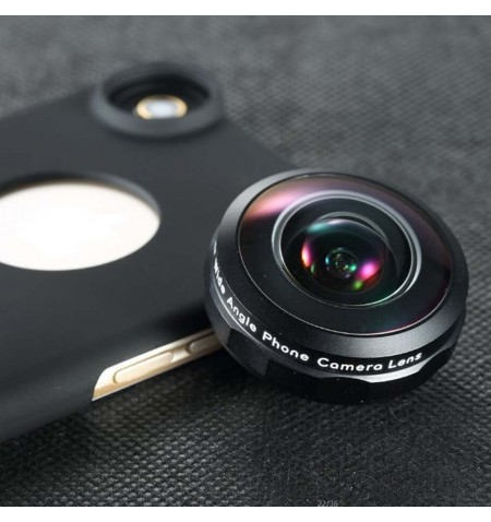 Objectif Grand Angle IB-8MM avec coque pour iPhone