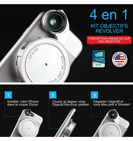 REVOLVER CORE EDITION iPhone 6-6S - Utilisation