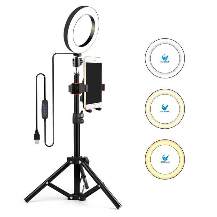Comment choisir sa Ring Light - Kit RIng Light Old Shark